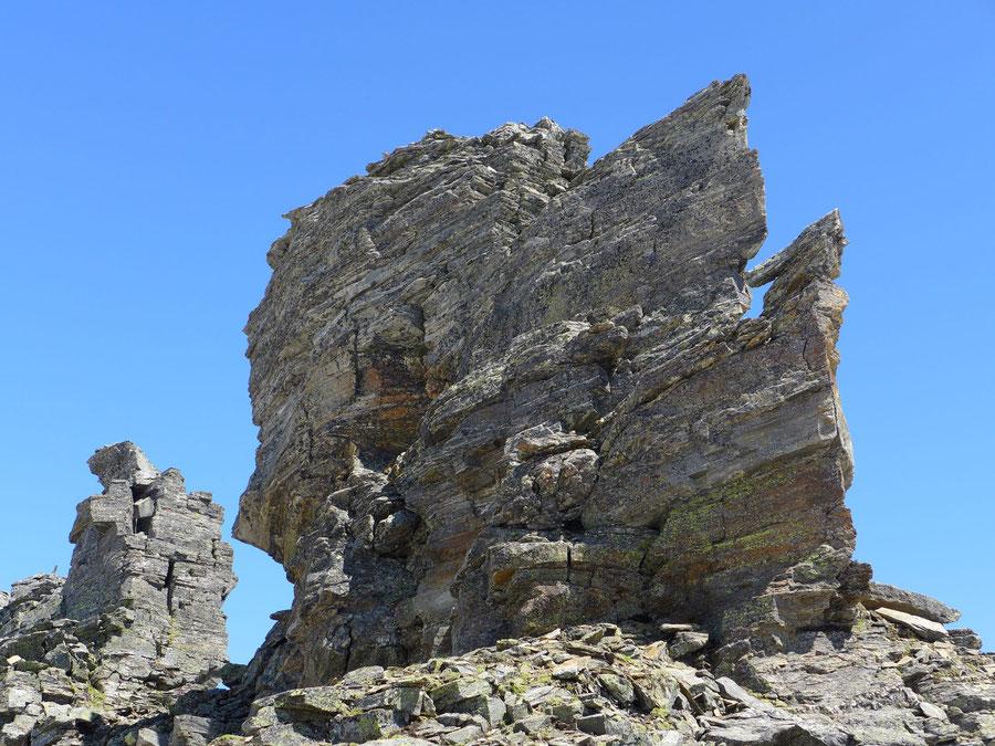 Zaubernock - Hauptgipfel Südostkante - Bergtour, Obere Mooshütte, Reißeckgruppe, Kärnten