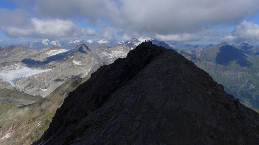 Schareck Neuwirtsteig - Gipfelgrat - Bergtour, Klettersteig, Sportgastein
