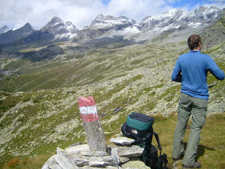 Rosswandspitze - Kasseler Hütte, Aschaffenburger Höhenweg - Bergtour, Zillertaler Alpen, Tirol