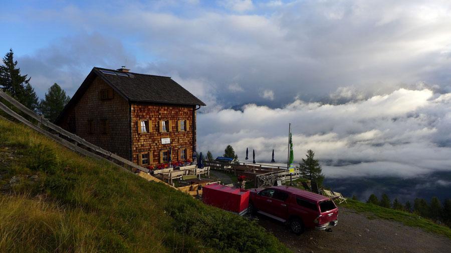 Polinik - Polinikhütte - Normalweg, Bergtour, Kreuzeckgruppe, Kärnten