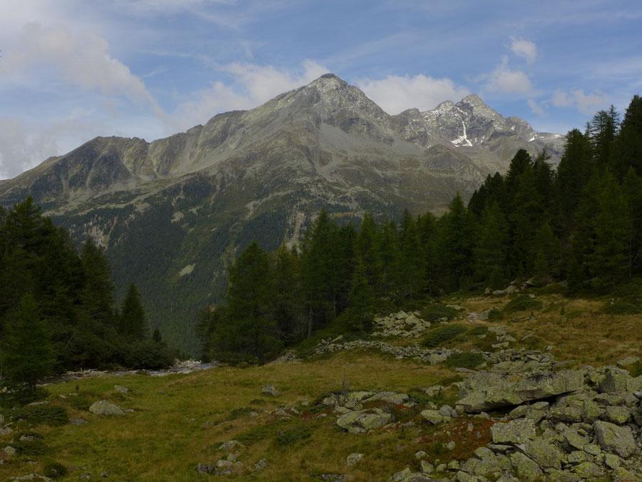 Gelttalalm - Wanderung, Gelltal, Rieserfernerhütte - Großer Moosstock und Durreck