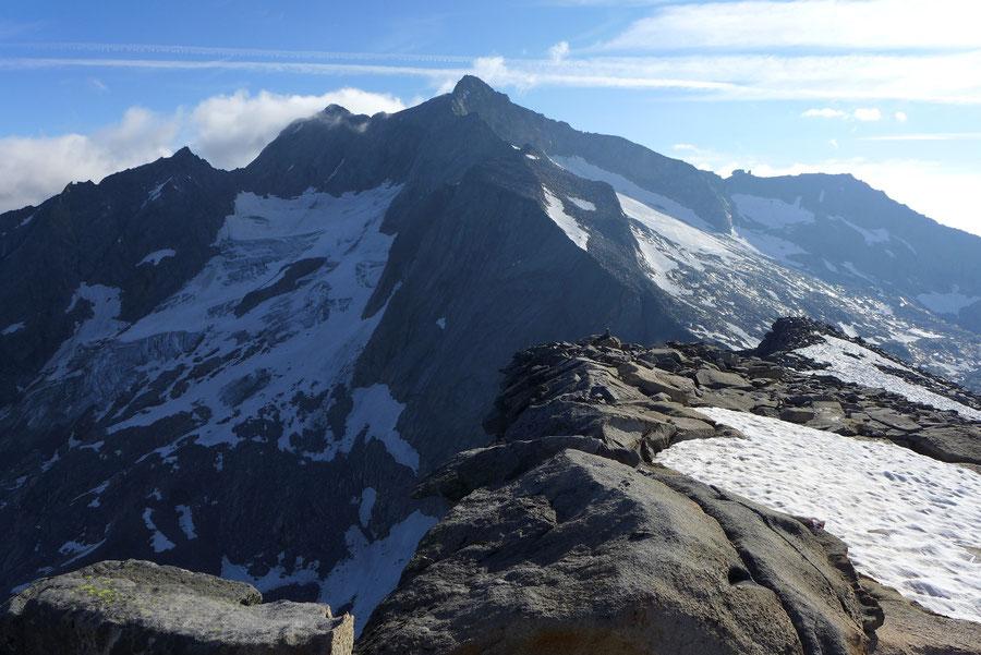 Hochalmspitze - Hochalmspitze vom Gipfel der Schneewinkelspitze -  Bergtour, Detmolder Grat, Steinerne Mandln