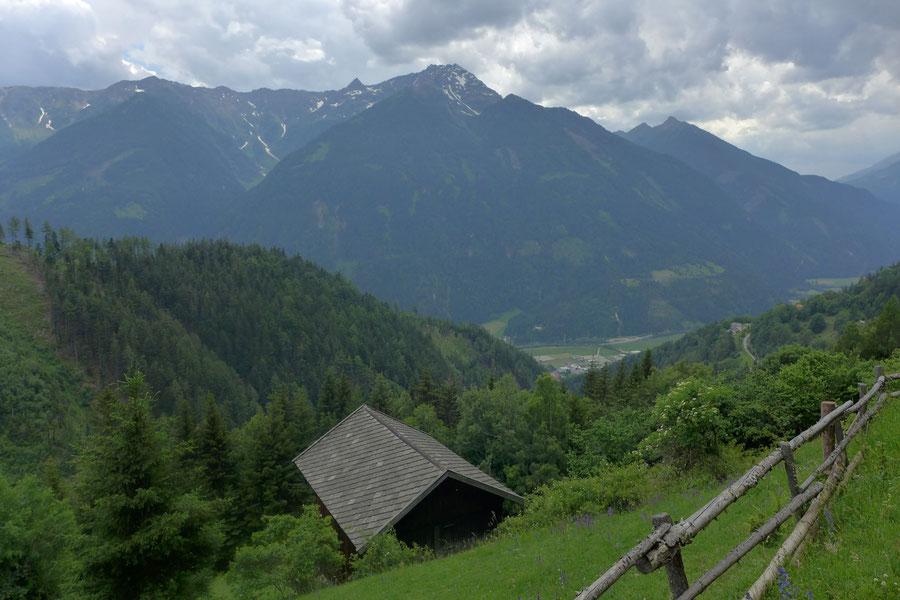 Kaponigtal - Abstiegsweg vor Polinik - Wanderung, Reißeckgruppe, Mölltal, Kärnten