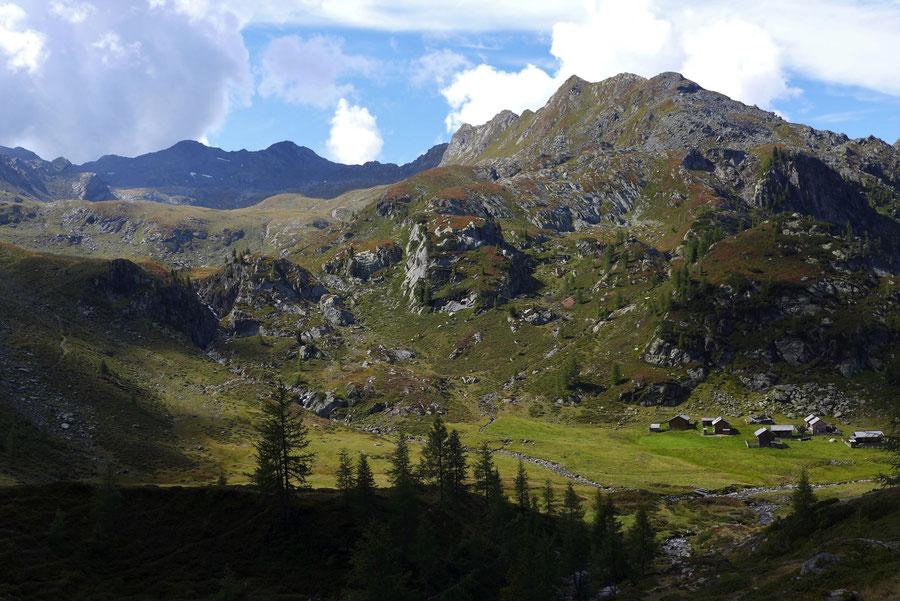 Feldnerhütte - Staller Wölla, Hochkreuz - Wanderung, Kreuzeckgruppe, Kärnten