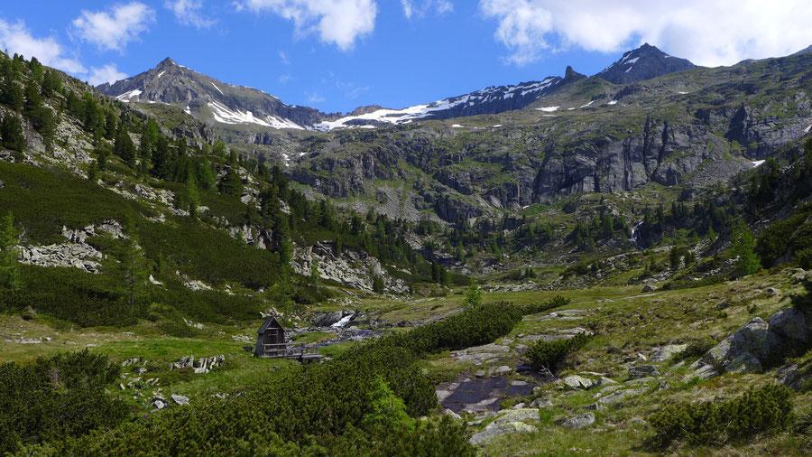 Zaubernock - Untere Mooshütte - Bergtour, Obere Mooshütte, Reißeckgruppe, Kärnten