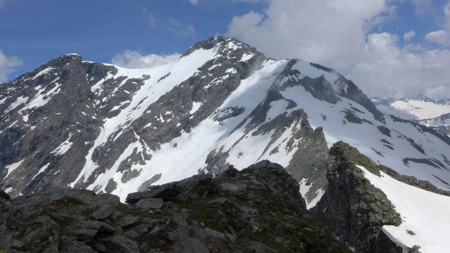 Grauleitenspitze - Gipfelblick zum Ankogel - Wanderung, Bergtour, Hannoverhaus, Ankogel