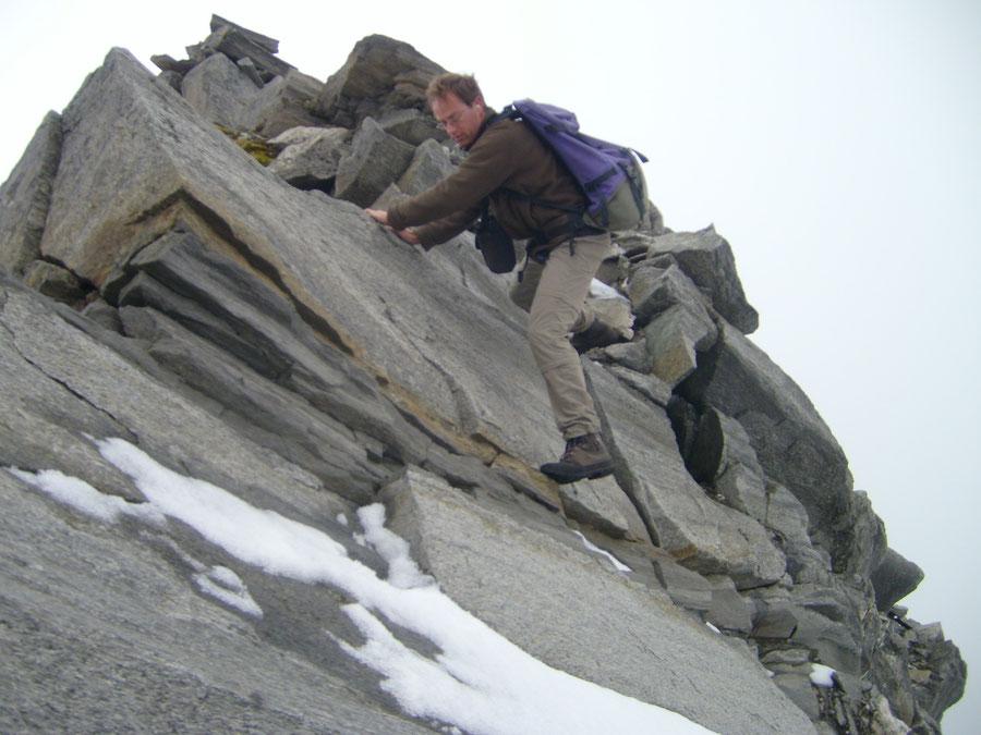 Hoher Weißzint - Südwestgrat Stelle 2- Bergtour, Zillertaler Alpen, Südtirol, Edelrauthütte