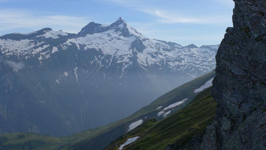 JWD Bergtouren Ankogelgruppe Ankogel von Südwesten