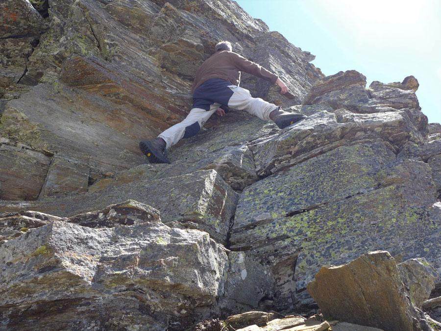 Zaubernock - Hauptgipfel mit Kletterei bis 2+ - Bergtour, Obere Mooshütte, Reißeckgruppe, Kärnten