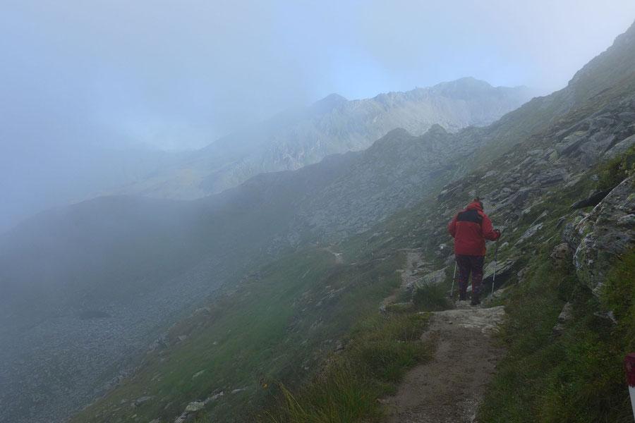 Hagener Hütte - Nebel - Wanderung, Mallnitzer Tauern, Jamnigalm, Sportgastein