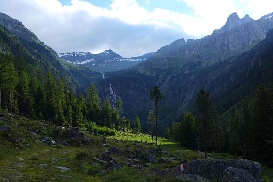 Zaubernock - Zandlacher Hütte und Riekental - Bergtour, Obere Mooshütte, Reißeckgruppe, Kärnten