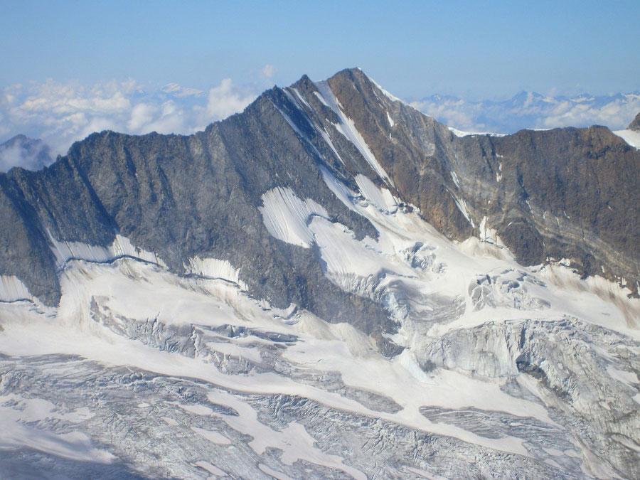 Hochfeiler - Nordostwand - Bergtour, Zillertaler Alpen, Südtirol