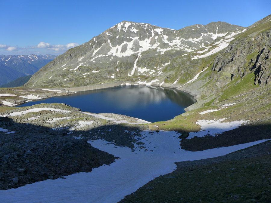 Zaubernock - Rinne über dem Hochalmsee - Bergtour, Obere Mooshütte, Reißeckgruppe, Kärnten