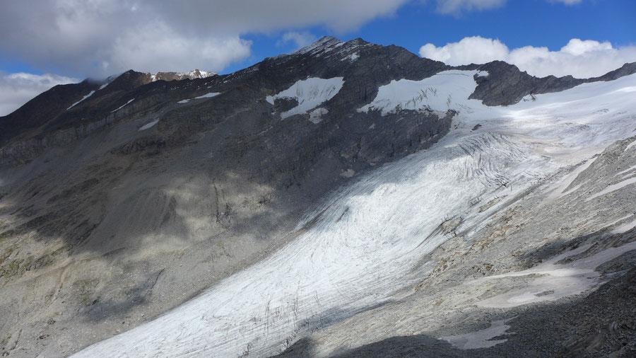 Hochfeiler - Untere Weißzintscharte - Bergtour, Zillertaler Alpen, Südtirol, Edelrauthütte