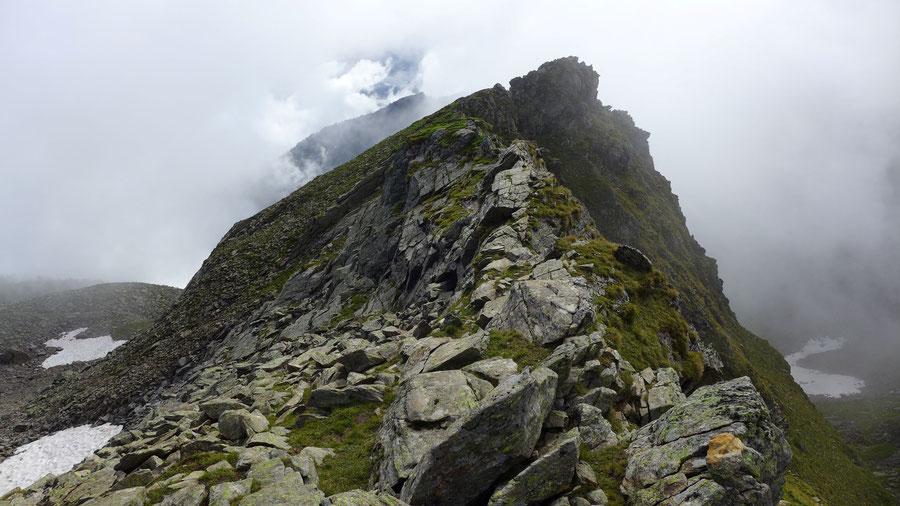 Polinik - Schulter auf 2450 Metern - Normalweg, Bergtour, Kreuzeckgruppe, Kärnten