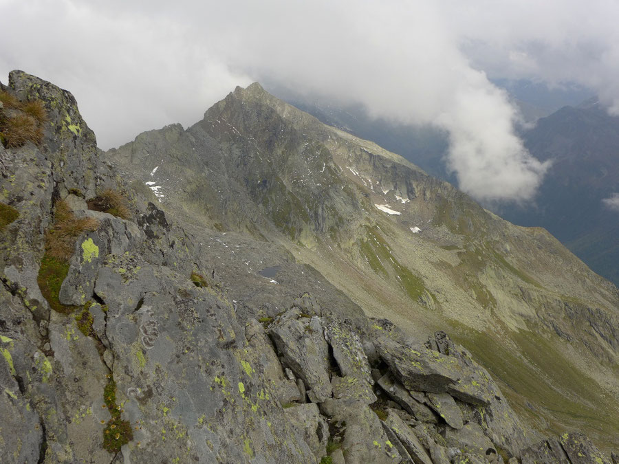 JWD Bergtouren Durreck Blick zum Hirbernock