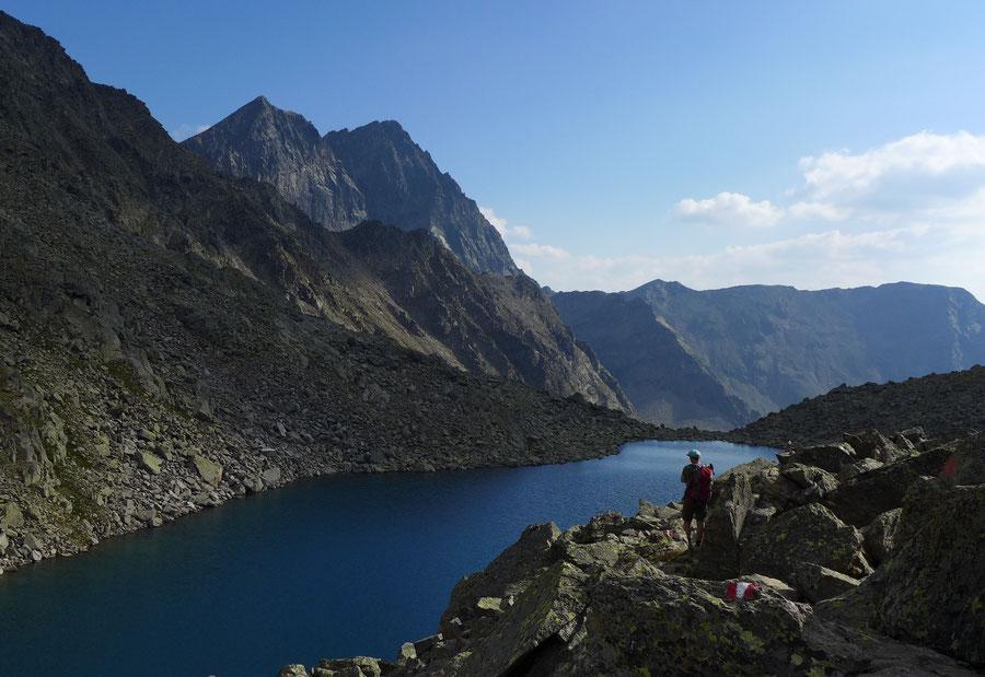 Leibnitztörl und Hochschoberhütte - Gartlsee - Bergtour, Franz-Keil-Weg, Lienzer Hütte