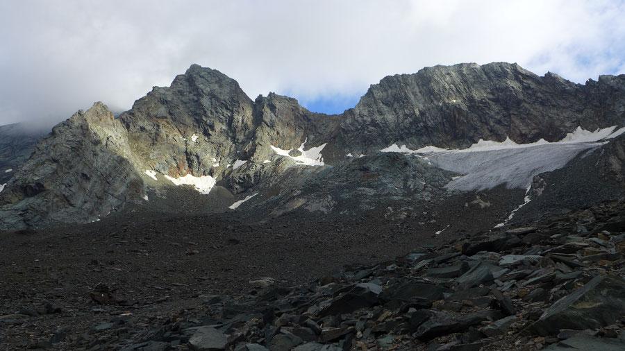 Großglockner Normalweg - Hohenwartscharte, Aufstieg von Salmhütte - Bergtour, Weg der Erstbesteiger, Kärnten