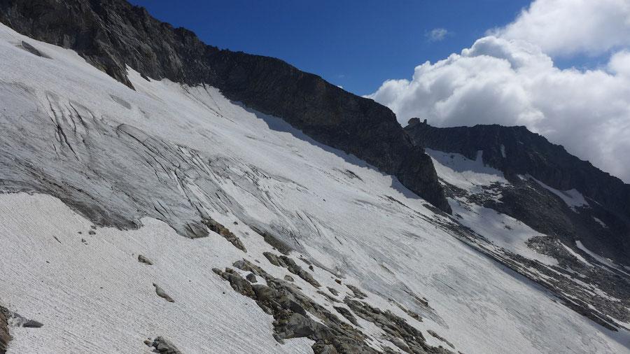 Hochalmspitze - Trippkees -  Bergtour, Detmolder Grat, Steinerne Mandln