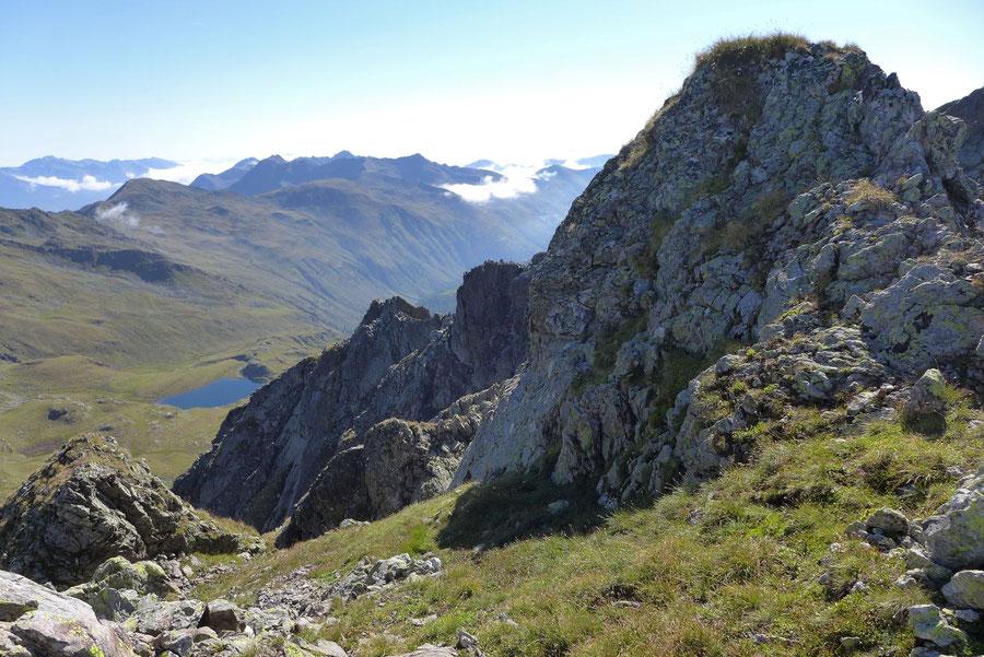Rothorn - Nordwestgrat, Grasband - Bergtour, Kreuzeckgruppe, Kärnten