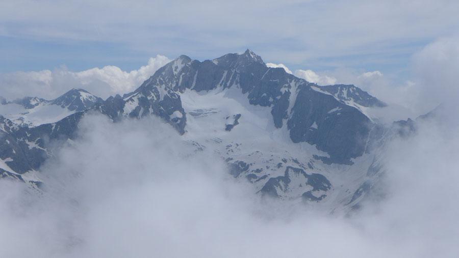 JWD Bergtouren Maresenspitze Blick zur Hochalmspitze