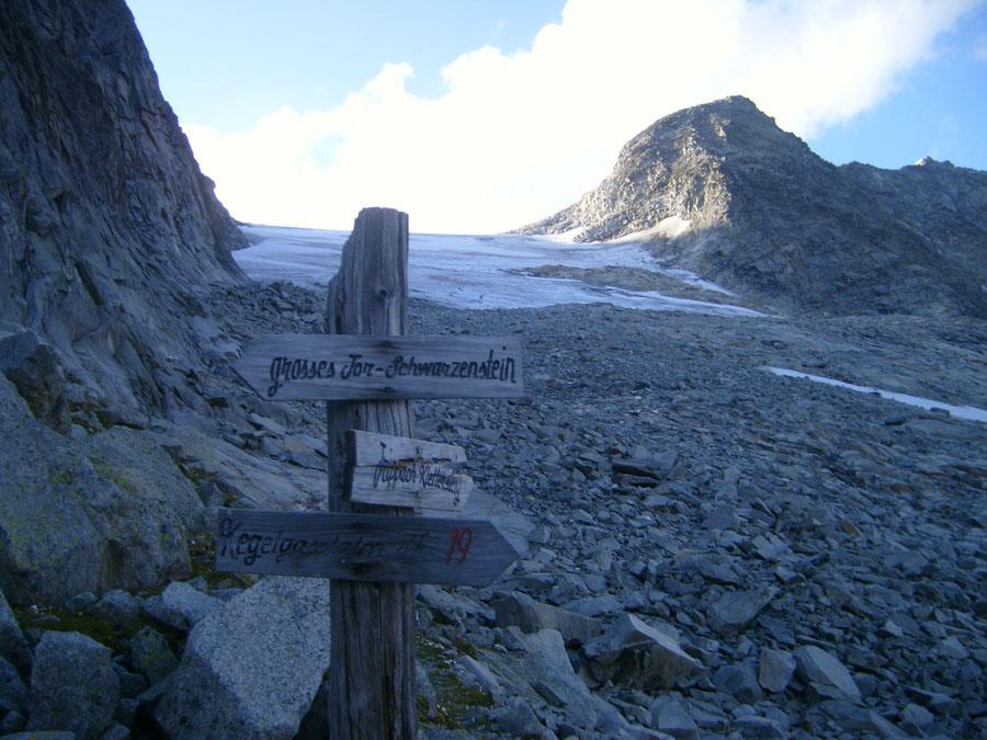 Stabeler Höhenweg - Vom Großen Tor zur Kegelgasslalm - Bergtour, Zillertaler Alpen, Südtirol