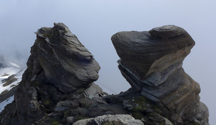 Vorderer Geiselkopf - Nordostgrat, Grattürme - Bergtour, Hagener Hütte