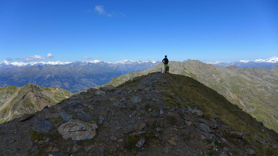 Kreuzeck - Gipfel - Ostgrat, Bergtour, Feldnerhütte, Kreuzeckgruppe