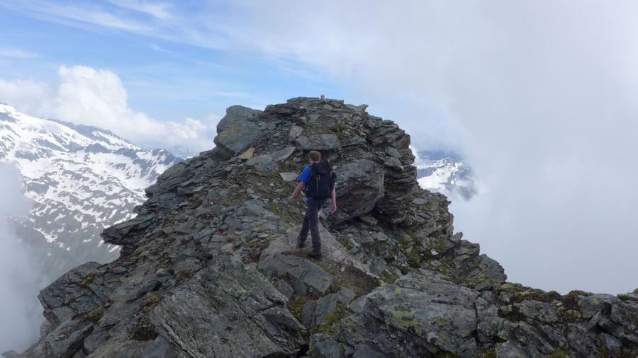 JWD Bergtouren Maresenspitze Gipfel