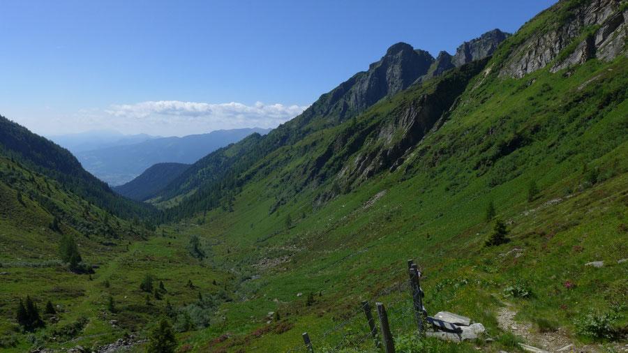Reißeck Höhenweg - Hinteregggraben - Bergtour, Reißeckgruppe, Kärnten