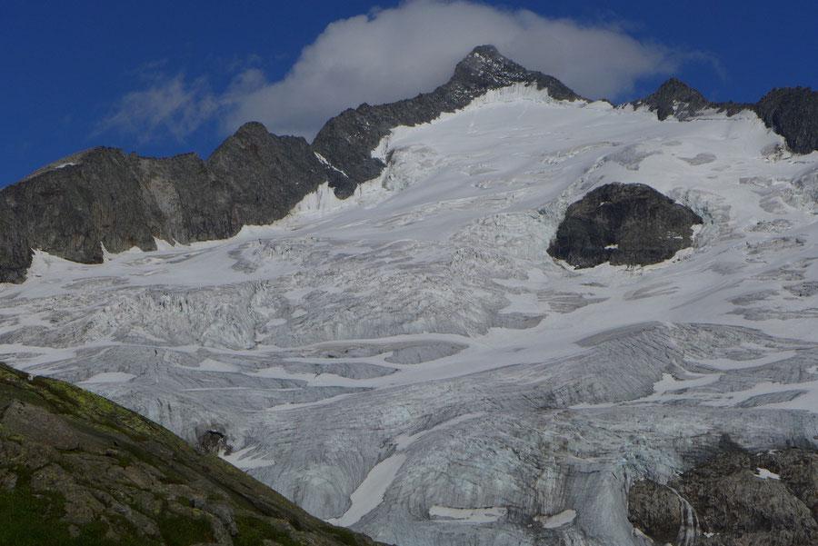 Großvenediger - Bergtour, Gletschertour, Kürsinger Hütte - Großvenediger am Abend