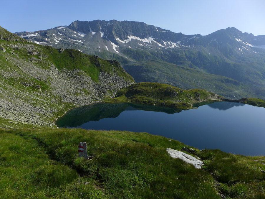 Sadnig-Höhenweg - Schwarzsee - Bergtour, Mölltaler Gletscher, Fraganter Hütte, Kärnten