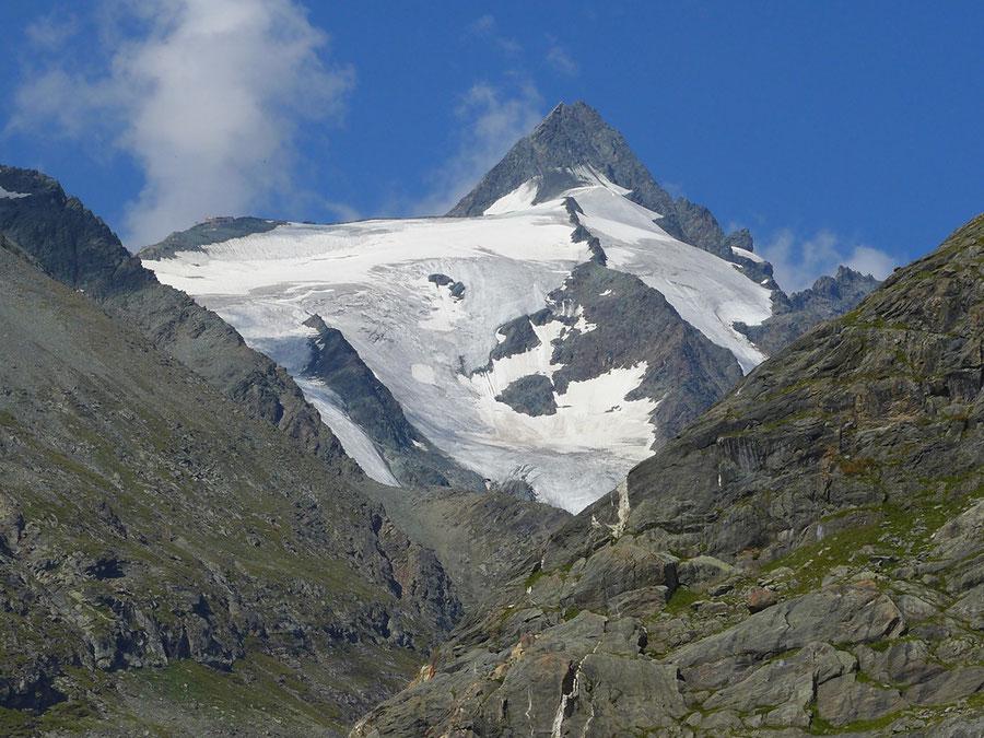 Großglockner Normalweg - Erzherzog-Johann-Hütte vom Margaritzenstausee - Bergtour, Weg der Erstbesteiger, Kärnten