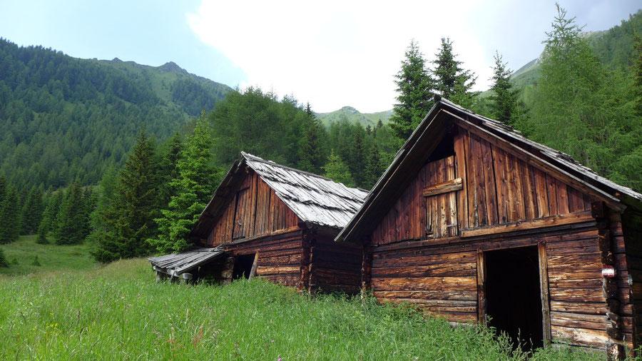 JWD Bergtouren Maresenspitze Aufstieg von der Wolligger Hütte zum Auernig