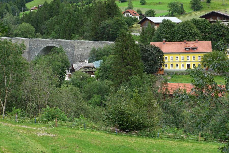 Groppensteinschlucht - Gasthaus Zur guten Quelle - Wanderung, Obervellach, Mölltal, Kärnten