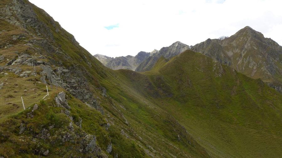Pfunderer Höhenweg - Kleines Tor - Wanderung, Pfunderer Berge, Südtirol
