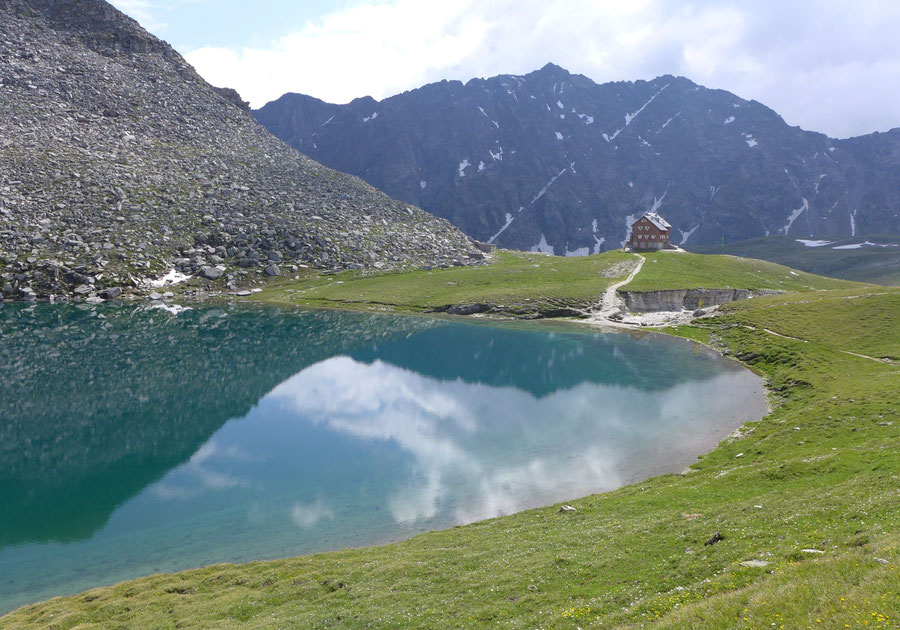 Neue Reichenberger Hütte - Wanderung Lasörlinggruppe - Bödensee Große Alplesspitze