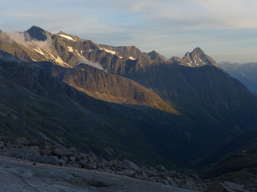 JWD Bergtouren Granatspitzgruppe Großer Muntanitz Nussingkogel