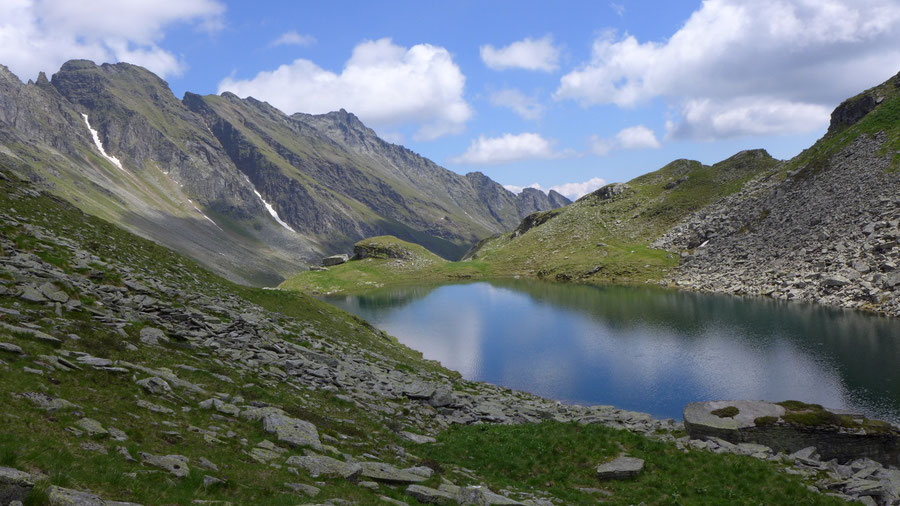 Reißeck Höhenweg - Rossalmsee Hinteregggraben - Bergtour, Reißeckgruppe, Kärnten