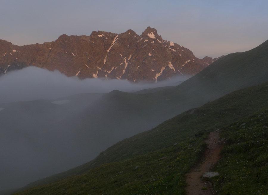 JWD Bergtouren Keeseck Morgennebel