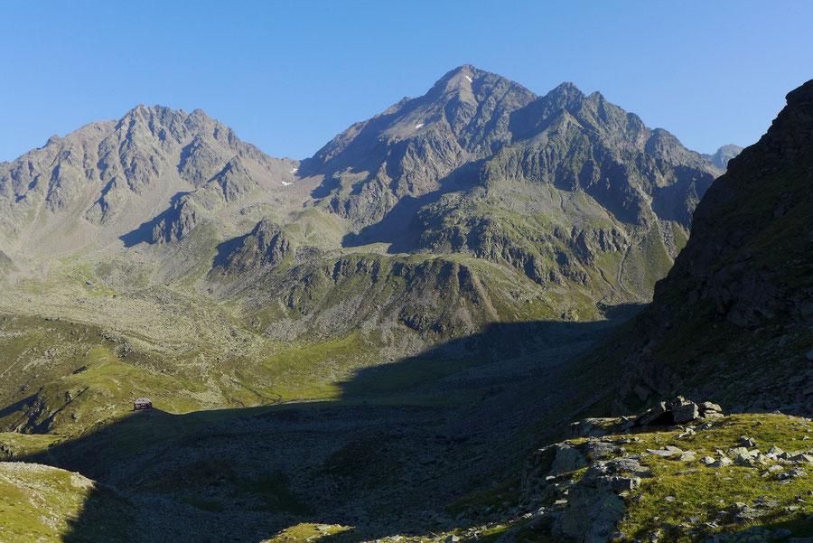 Mirnitzscharte - Hochschoberhütte, Leibnitzer Rotspitze - Bergtour, Lienzer Hütte, Schobergruppe