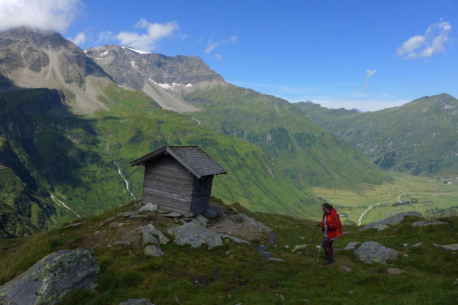 Hagener Hütte - Eselkarhütte - Wanderung, Mallnitzer Tauern, Jamnigalm, Sportgastein