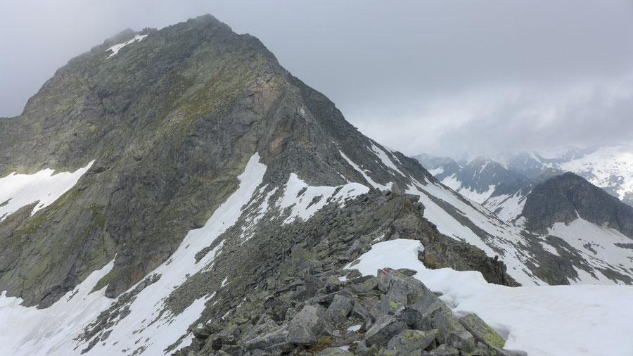 Reißeck Höhenweg - Zwenberger Törl unter der Tristenspitze - Bergtour, Reißeckgruppe, Kärnten