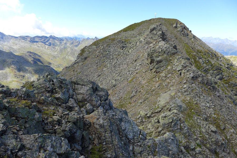 Kreuzeck - Ostgrat, zweiter Ostgratturm - Bergtour, Feldnerhütte, Kreuzeckgruppe