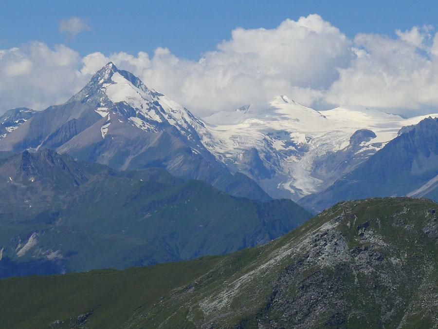 Hoher Sadnig - Großglockner vom Sadniggipfel - Bergtour, Fraganter Hütte, Sadnighaus, Sadnigscharte