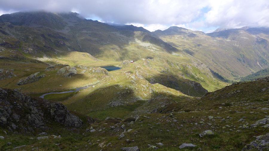 Rothorn - Südostgrat, Abstieg - Bergtour, Kreuzeckgruppe, Kärnten