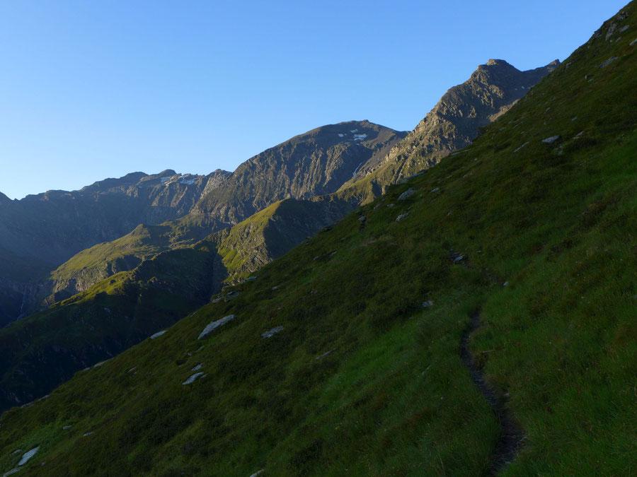 Schareck Neuwirtsteig - Anfangs steiler Pfad - Bergtour, Klettersteig, Sportgastein