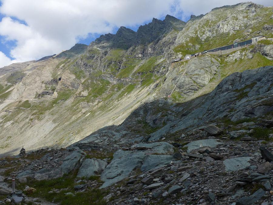 Gletscherlehrweg Pasterze - Aufstieg Kaiser-Franz-Josefs-Höhe - Wanderung, Großglockner Hochalpenstraße