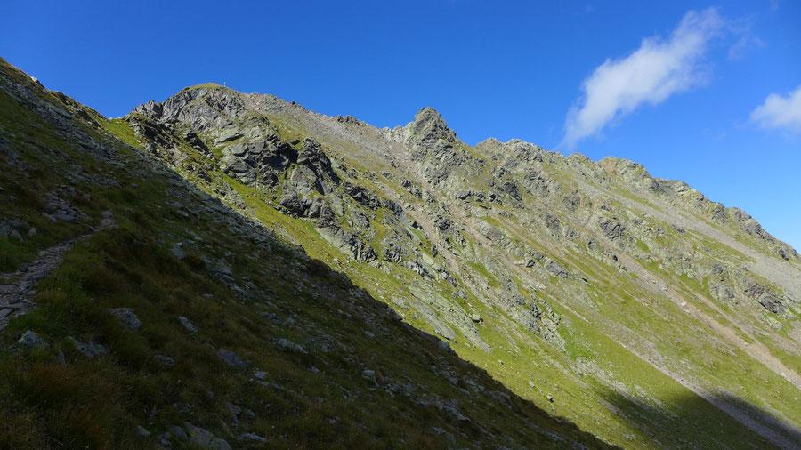 Kreuzeck - Normalweg - Ostgrat, Bergtour, Feldnerhütte, Kreuzeckgruppe