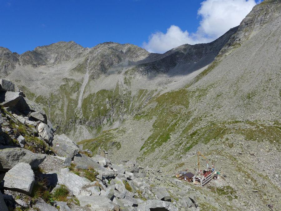 Hochfeiler - Edelrauthütte und Untere Weißzintscharte - Bergtour, Zillertaler Alpen, Südtirol